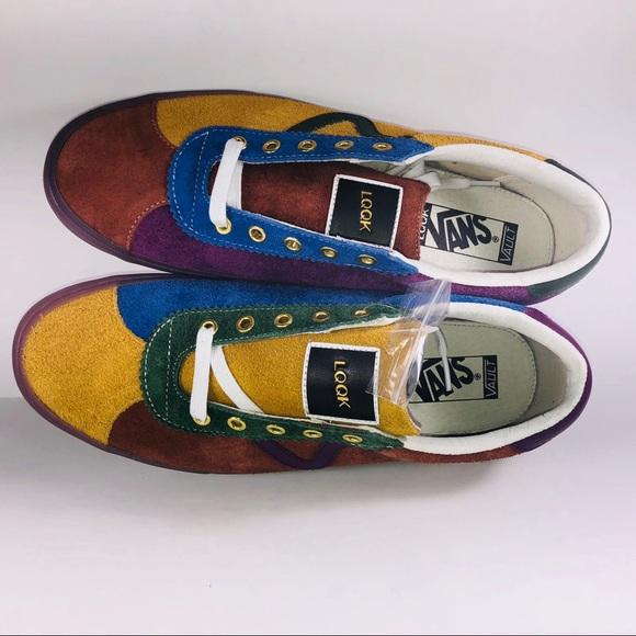 bd04ed6ac57fe2 VANS Epoch Sport LX LQQK Multicolored Sneakers